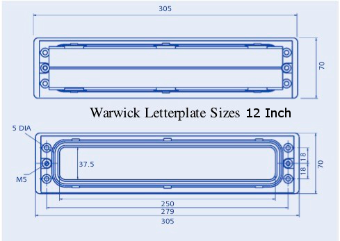 Intumescent LetterBox Liners
